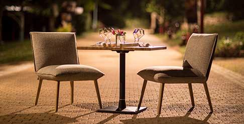 Restaurant extérieur - Le Bus26